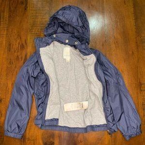 Diesel Jackets & Coats - Boy's Diesel Hooded Windbreaker - Size 5